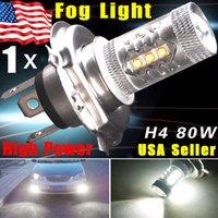 M high power led headlight - 1X Super White H4 HB2 CREE W LED Projector Ultra Bright Heamdlamp Headlight Hi Lo Beam High Power Car Led Fog Lights