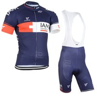 Pro Team IAM Cycling 2015 Nouveau modèle IAm cycling Clothing Maillot manches courtes et pantalons cyclistes cyclistes Set Lycra Breathable Bike Clothes