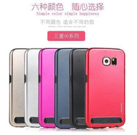 aluminium alloy price - Cheap price Metal Aluminium Alloy Hybrid Cell Phone Cases Anti Knock Phone Covers For Samsung Galaxy S6 S6edge Note4 LG MOTOMO