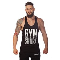 army equipment - New Golds Gym Singlets Mens Tank Tops Shirt Bodybuilding Equipment Fitness Men s Superman Gym Stringer Tank Top Sports Clothes