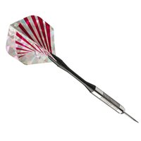 Wholesale New D Bling Cool Sports Darts Flights Red Stripe Laser Tail Wing PET Hot Sale