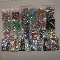applied clothing - 500pcs various color flatback jelly mm resin rhinestones Nail Art applique strass applied to clothes nail and phones and shoes