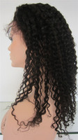kinky curl lace wig - wigs for black women human hair lace front wig kinky curl remy indian with african american free part B medium cap medium density