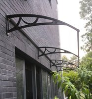 balcony suppliers - Polycarbonate Awning China supplier balcony Window Canopy cost Bank ATM machine awnings Sun Shade manufacturer PC awning prices