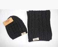 Wholesale Both woolly scarf hat In the winter to keep warm scarf Fashion ladies scarf of foreign trade