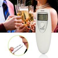 Wholesale Breathalyzer breath alcohol analyzer Digital Lcd Alcohol Breath Tester Breathalyzer Analyzer Detector