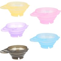 Wholesale NEW Fashion Hairdressing Salon Hair Color Dye Bowl DIY Coloring ml Mixing Bowl Hair Care color styling tools