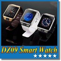 phone quad band - DZ09 Bluetooth Smart watch DZ09 SIM Phone Call Smart Watch Phone with Camera Unlocked Micro SIM card Slot Quad Band Gear