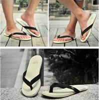 Wholesale 2015 new arrive five color fashion summer flip flops casual men s sandals outdoor beach black sandals size
