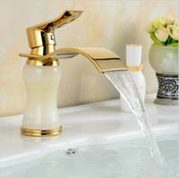 ceramic art basin - Newly Art Contemporary Bathroom Faucet Basin Faucet Brass Mixer Tap Waterfall Faucet GM1011