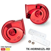 auto subwoofers - TANSKY NEW V Loud Car Auto Bike Truck Electric Vehicle Boat Snail Horn Sound Level dB TK HORN01ZL
