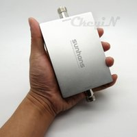 Wholesale Dualband GSM Booster UMTS WCDMA MHz G Signal Amplifier G Reapter Antenna Cable WEA07G H20
