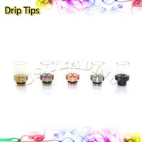 Cheap 2014 Glass Drip Tips 510 Thread for e Cigarette RDA Atomizer 510 Mouthpieces RDA Glass drip tip for RDA Atomizer