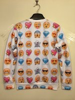 printed shirt tee - Harajuku New shirts for Women Men Funny Cartoon Emoji Print D T Shirt O neck Expression Tee t shirt Crop Top t shirt Sweatshirt