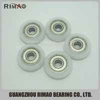 bearings size - pieces R type zz wheels for sliding nylon roller bearings window bearings size mm