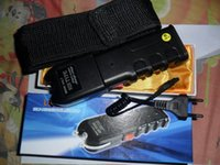 Wholesale Hot Sale New Type LED Flashlight Self defense Hunting Torch Security Tactical Light