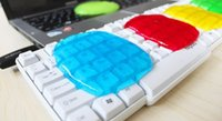 Wholesale Color Magical Keyboard Clay Crystal Cleaning Rubber Soft Clean Dust Mud Computer Cleaners