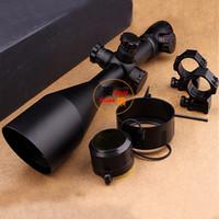 Wholesale 2015 NEW Leupold x60 mm AO illuminated scope hunting scope Diffope W Rings11mm mm Tactical Optics Scopes Riflescope