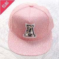 Wholesale New Korean wave V letter sequined lace solid color casual flat brimmed hat baseball cap casual hat sweet