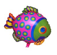 baby shower fish - Spotted Fish Balloons Happy Birthday Party Baby Shower Favors Balloon