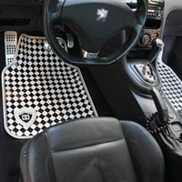 Wholesale Automotive supplies manufacturers classic black and white slip pads latex mats spread Yiwu GM