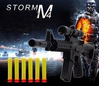air soft games - Free Ship CS Game Shooting rCrystal Gun Nerf Air Soft Gun Airgun m4a1 Gun Pistol amp Soft Bullet Gun Plastic Toys