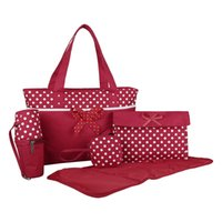 produce bags - Cnsusino set Baby Dipaer Bags Multifunctional Durable Baby Bag Lovely Bow knot Baby s Produce