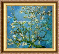 almond paste - New Arrive Full Drill Crafts Diamond Painting Cross Stitch Embroidery Rhinestone Pasted Van Gogh Almond Home Decor Picture L1281