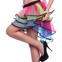Wholesale Top Seller Women s Lady s Tutu Skirts Ballet Costume Stage Wear Polyester Gauze Elastic Band ED171