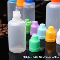 Wholesale 15ml ml glass bottle for e juice with childproof plastic dropper caps top quality ml plastic bottle