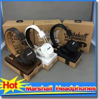 dj - Marshall Major Headset With Mic Deep Bass DJ Hi Fi Headphones HiFi Earphones Professional DJ Monitor Headphones