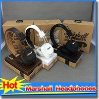 Cheap Original Genuine Marshall Major headphones With Mic Deep Bass DJ Hi-Fi Headphone HiFi Headset Professional DJ Monitor Headphone