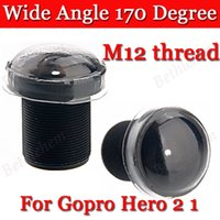Wholesale Wide Angle Degree M12 Thread Replacement Lens For Suptig Gopro HD Hero Hero