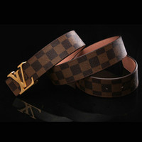 designer casual jeans - Leather designer belts for mens Business Jeans casual Alloy Automatic Buckle waist strap mens belts luxury brand belts PD007