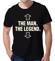 adult humor shirts - Plus Size Summer Style Men s Women The Man The Legend T Shirt Funny Humor Retro Adult Short Sleeve Swag Top Tees T shirts
