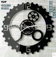Cheap wall clock Best gear clock