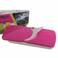 auto u clips - New x portable Convenient Cute Car sun shading Visor Tissue Box Auto Accessories Holder Paper Napkin Clip with metal U hange