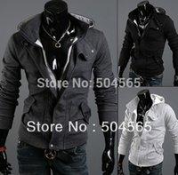 Cheap 2014 New Fashion Men's Solid Hoodies Sweatshirt Plain Hoodies Clothing Men Jacket Sportwear Korean Sliom