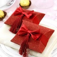 Wholesale and Retail Paper Pillow Box Baby Shower Candy Box Party Gift Packaging Paper