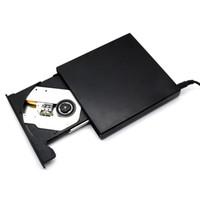 Wholesale DHL Shipping USB Portable External Slim DVD CD RW Burner Recorder Optical Drive CD DVD ROM Combo Writer x For Computer goodbiz