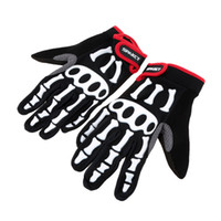 mens sports gloves - Cool Fashion Full Finger Cycling Gloves Mens Non slip Bicycle Cycling Gloves Spakct Breathable Shockproof Outdoor Sports Gloves Y1706