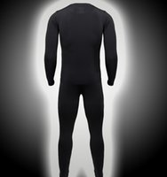 Wholesale The new winter ski sports and fitness clothing outdoors quick drying wicking thermal underwear riding suit