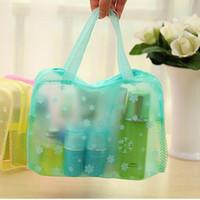 bathing toiletries - Household Toiletries Admission Package Women Cosmetic Bag Bathing Waterproof Pouch Men And Women Multifunction Storage Bag