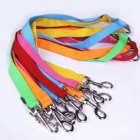 Wholesale 5 Colors Nylon Way Dog Coupler Walk Dogs Lead Nylon Swivel Snap