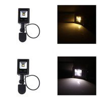 Wholesale 10W Warm Cool White LED Flood Light PIR Motion Sensor Outdoor Garden Lamp IP65