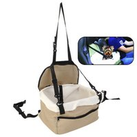 Wholesale Quality Pet Dog Puppy Cat Kitty Car Seat Booster Seat Carrier Car Vehicle Leash
