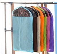 Wholesale Hot Brand New Breathable Suit Dress Cover Garment Travel Closet Storage Bag Protector