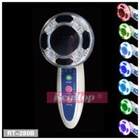 microcurrent equipment - No Needle Mesotherapy RF Radio Frequency Facial Machine With Photon LED Light Therapy Skin Rejuvenation Skin Tightening Beauty Equipment