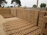 Wholesale Clay soil interlocking brick making machine small low investment manal brick machine