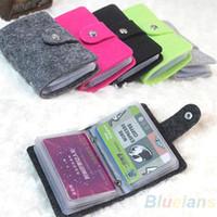 Wholesale Vintage Womens Men Pouch ID Credit Card Wallet Cash Holder Organizer Case Box Pocket Passport Cover PD